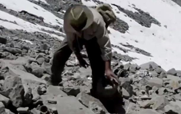 Альпинисты нашли обломки самолета, потерпевшего крушение 54 года назад