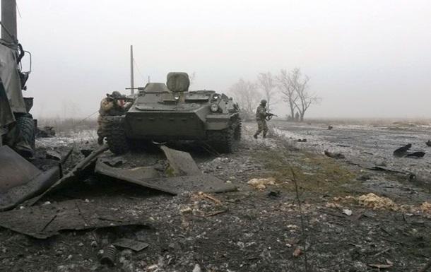 Обстрелы и атаки у Дебальцево. Карта АТО за 9 февраля