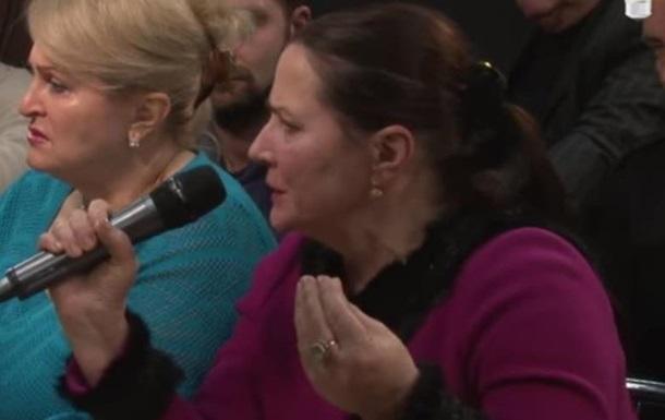 Как общаются матери бойцов Украины и ЛДНР: телемост Киев-Донбасс