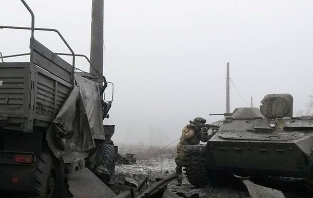 За трассу Артемовск-Дебальцево продолжается бой – штаб АТО