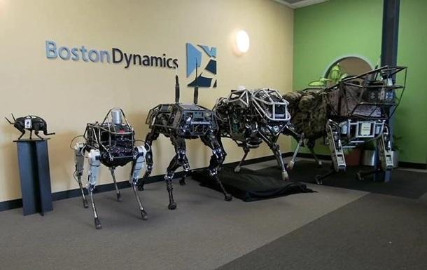 Принадлежащая Google компания показала нового робота