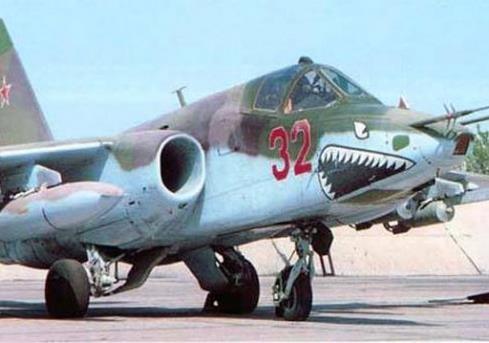 Сили АТО збили штурмовик СУ-25 військово-повітряних сил РФ.