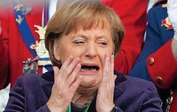Фрау Меркель, дома надо сидеть, борщ варить