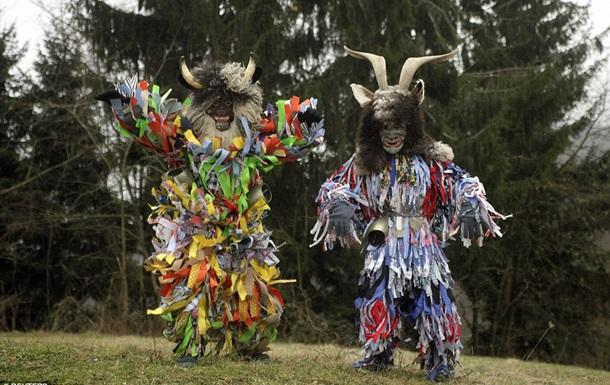 В Словении стартовал главный маскарадный карнавал Центральной Европы