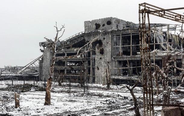 Заснеженные руины Донецкого аэропорта: фоторепортаж