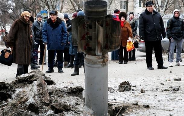 Жители Краматорска спорят, откуда обстреляли город