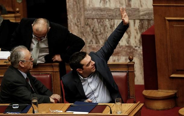 Парламент Греции выразил вотум доверия правительству страны