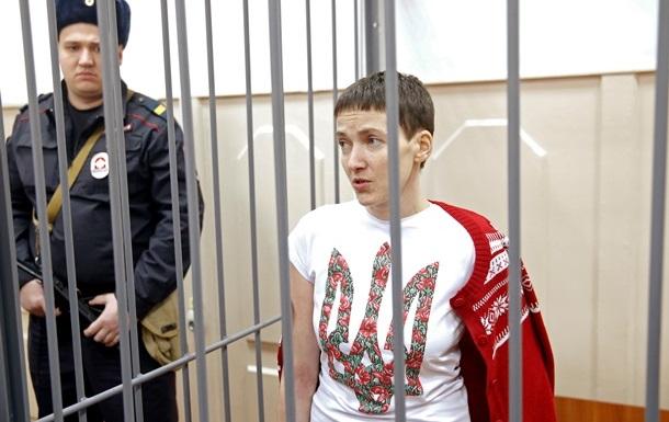 Савченко останется в СИЗО до 13 мая и продолжит голодовку