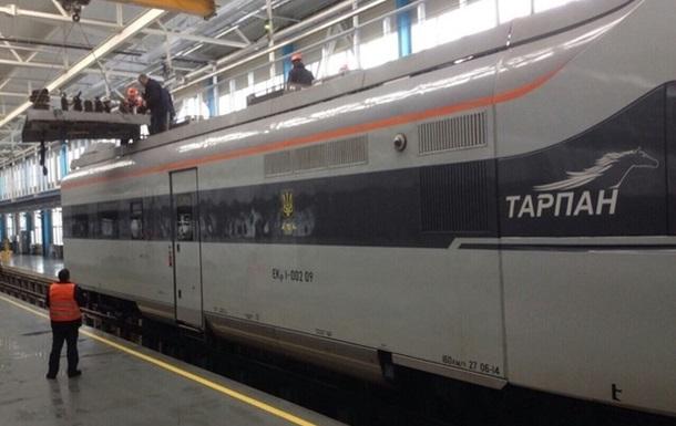 Поезд из Киева в Одессу заменили на Hyundai