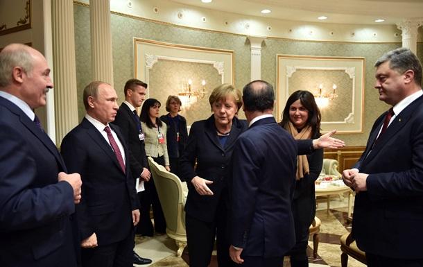 В Минске началась встреча лидеров стран  нормандской четверки