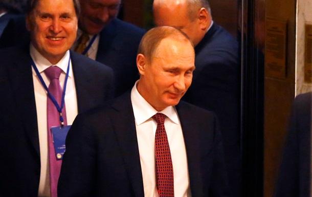 Владимир Путин в Минске