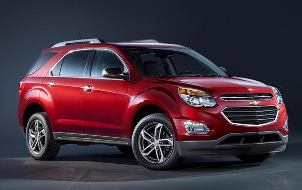 В Chevrolet рассекретили обновленный кроссовер Equinox
