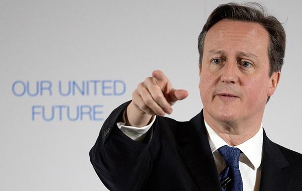 Кэмерон: Санкции отменят после изменения поведения Путина
