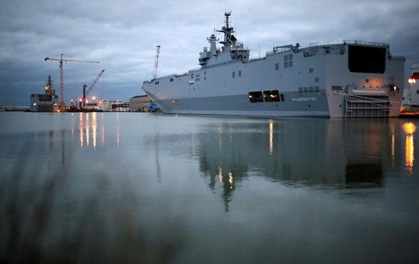 Во Франции пока не видят причин поставки России Мистралей