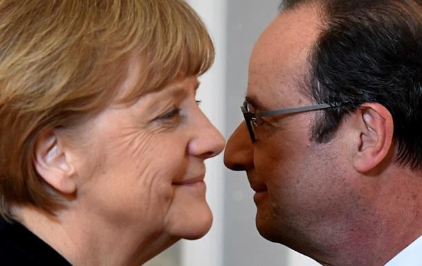 Четверка  на следующей неделе обсудит, как идет прекращение огня - Олланд