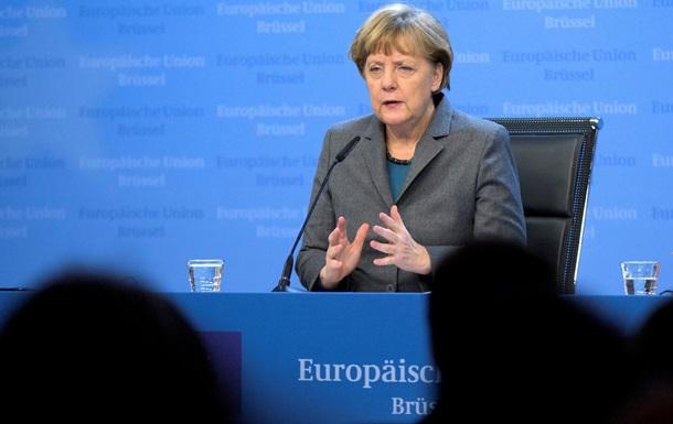 Меркель подтвердила сроки вступления в силу новых санкций против России