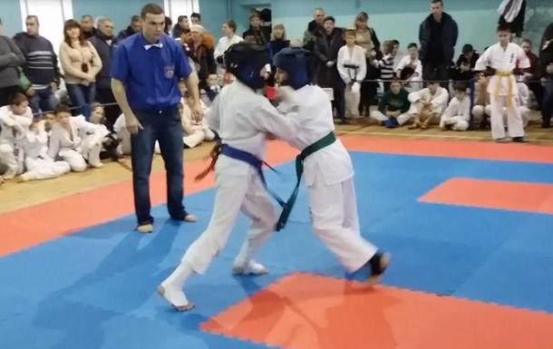 В Кировоградской области прошли соревнования по Киокушинкай каратэ. ВИДЕО