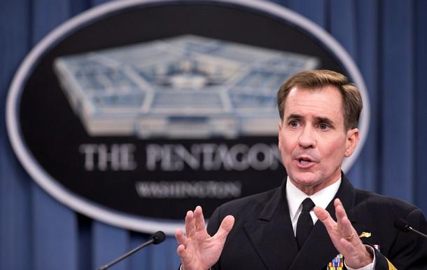 В Пентагоне рассчитывают на дипломатическое разрешение конфликта в Украине