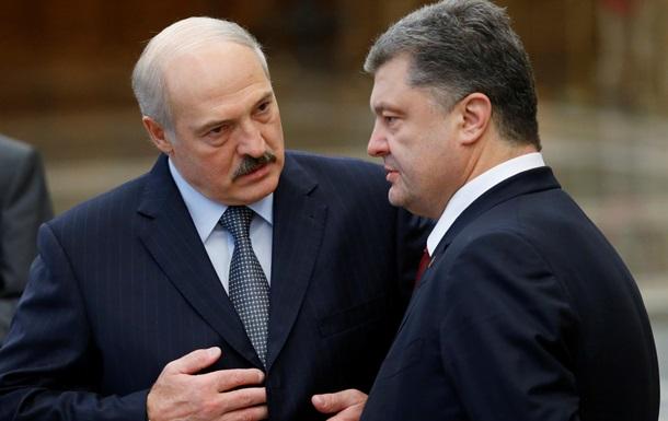 Лукашенко: Путин направил Порошенко приятный и сильный месседж по Донбассу