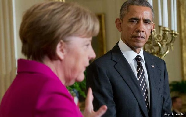 Обама и Меркель поговорили о ситуации в Дебальцево