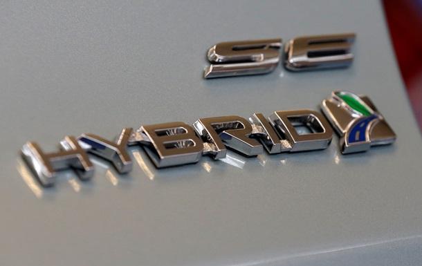 Украина сняла спецпошлины с импорта гибридных автомобилей