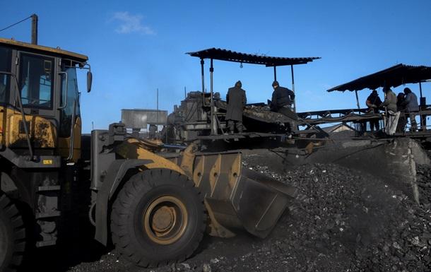 Треть угольных шахт Макеевугля прекратила добычу