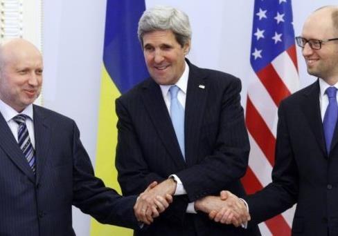 Порошенко обвинил Яценюка и Турчинова  развязывании гражданской войны на Украине