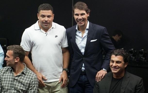 Что общего между Надалем, Роналдо и Шевченко?