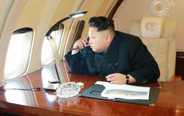 Впервые появились фотографии интерьера самолета Ким Чен Ына
