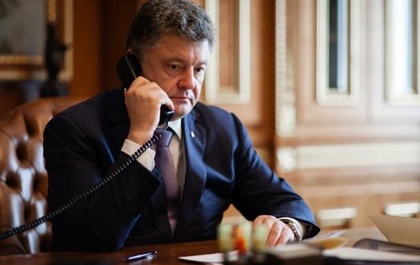Порошенко и Байден обвинили сепаратистов в нарушении минского соглашения
