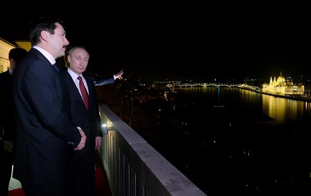 Путин в Будапеште говорил об экономике и Украине