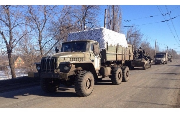 Колонну военных под Дебальцево расстреляли из танков - Семенченко