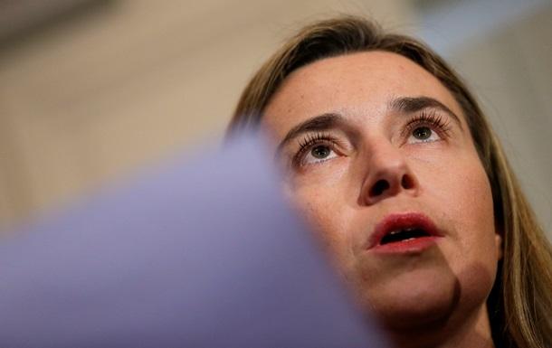 Могерини: Решение о новых санкциях может быть принято в ближайшие часы