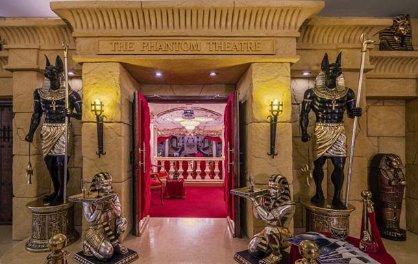 В Испании за 13 млн евро выставили на продажу дом в древнеегипетском стиле