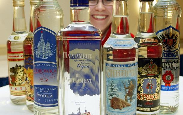 Экспорт российской водки в Украину в 2014 году сократился в два раза