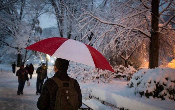 Завтра в Украине ожидается потепление
