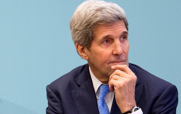 Керри не исключает новые санкции против России