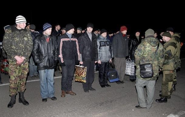 В Луганской области проходит обмен пленными