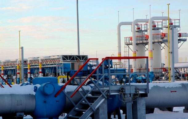 Украина сократила суточный отбор газа до рекордного минимума