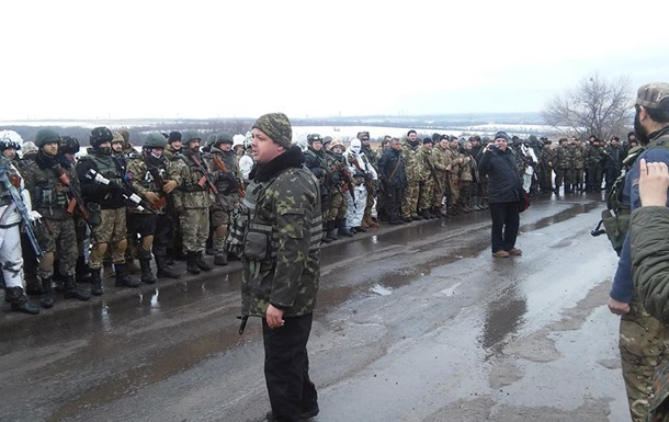 Батальоном  Донбасс  командует заместитель Семенченко