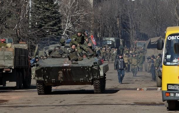 Военные и ОБСЕ не подтверждают отвод вооружений сепаратистами