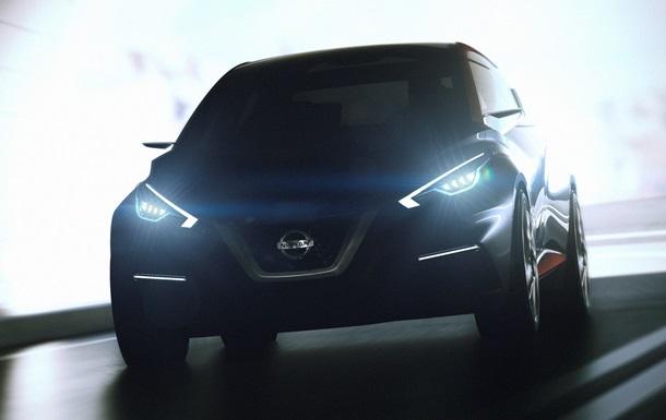 Nissan презентует в Женеве концептуальный хэтчбек Sway