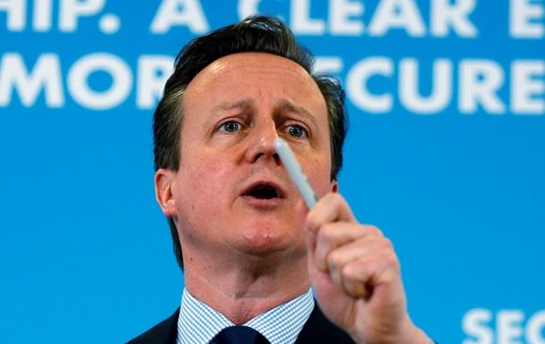 Кэмерон пообещал Украине военных инструкторов, а России – санкции