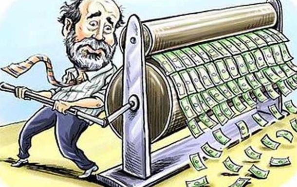 Скільки ще Нацбанк буде друкувати гривні?