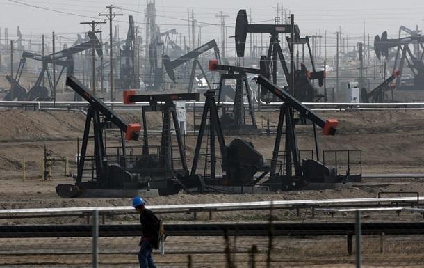Цена нефти на Лондонской бирже опустилась ниже 59 долларов