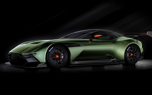 Aston Martin показала суперкар Vulcan