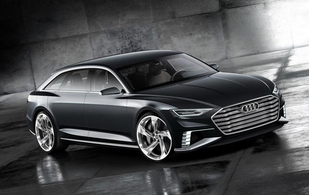 Audi рассекретила концептуальный универсал Prologue Avant