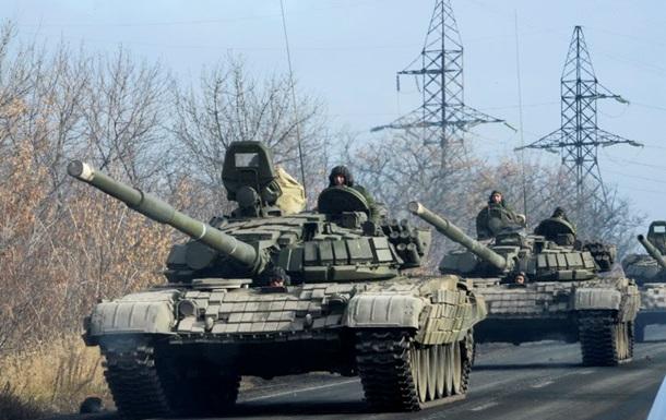Сепаратисты перебрасывают в Новоазовск танки - штаб АТО