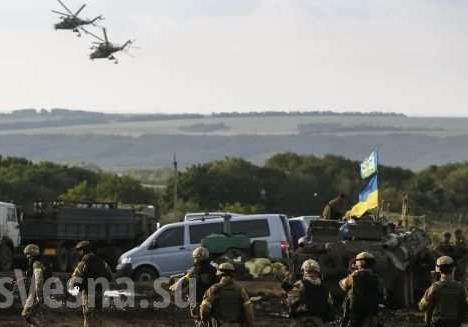 ВСУ  не отводят тяжелое вооружение с фронта, а продолжают сосредоточение войск