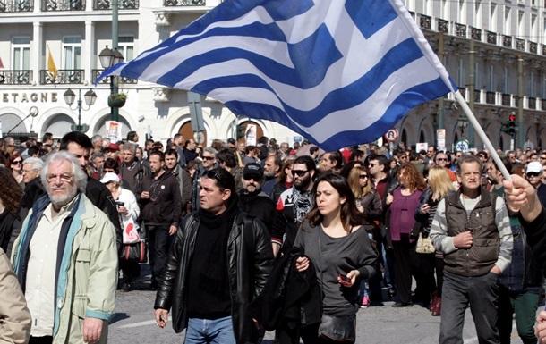 Греция: первые протесты против нового правительства